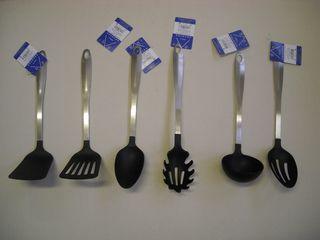Espatula cocina metal y plastico comercial josan - Espatula plastico cocina ...