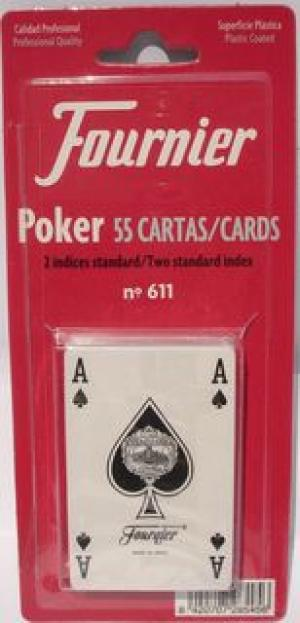 NAIPE FRANCES POKER 55 CARTAS