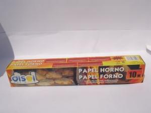 PAPEL HORNO 10 M DISOL *